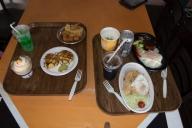 レストラン「フロンティア」で昼食