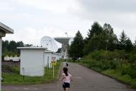 野辺山宇宙電波観測所 45m電波望遠鏡を目指すぷに子