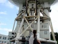 45m電波望遠鏡は大きい