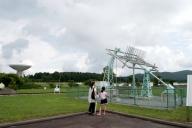 45m電波望遠鏡と旧電波望遠鏡