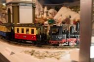 レーマンの鉄道模型にもテディベアが乗っていた