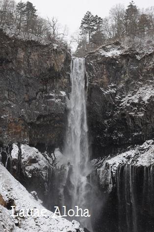 華厳の滝!