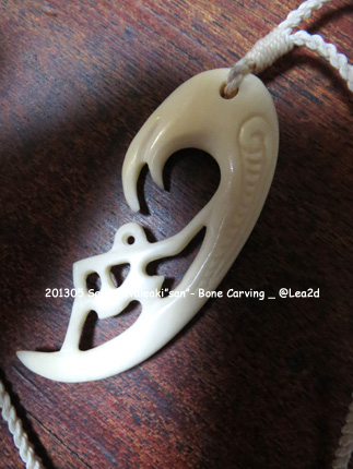 "2013年5月 Sami Fevaleaki ""San""-Bone Necklace"