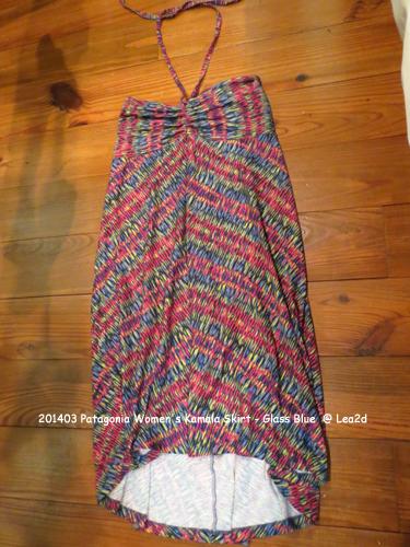 2014年3月 Patagonia Women's Kamala Skirt