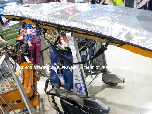 "201405 TROPICAL BLENDS-SUP Board(Papa Iki 8'0"")トロピカルブレンズ スタンドアップパドルボード"