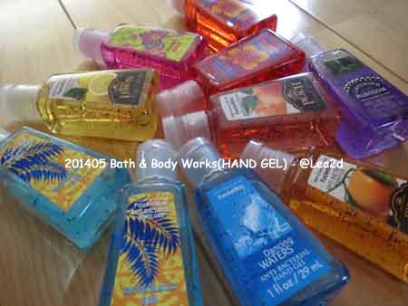 201405 Bath & Body Works(HAND GEL)