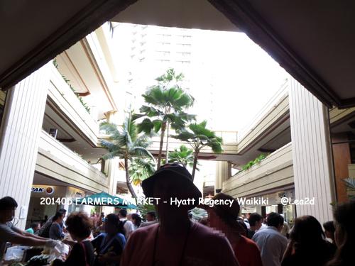 2014年5月 FARMERS MARKET - Hyatt Regency Waikiki(ハイアットリージェンシーのファーマーズマーケット)Ka'u Coffe-Coffee Jelly(カウコーヒーのコーヒーゼリー)