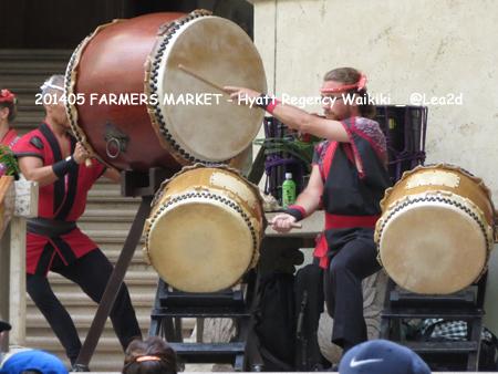 2014年5月 FARMERS MARKET - Hyatt Regency Waikiki(ハイアットリージェンシーのファーマーズマーケット)
