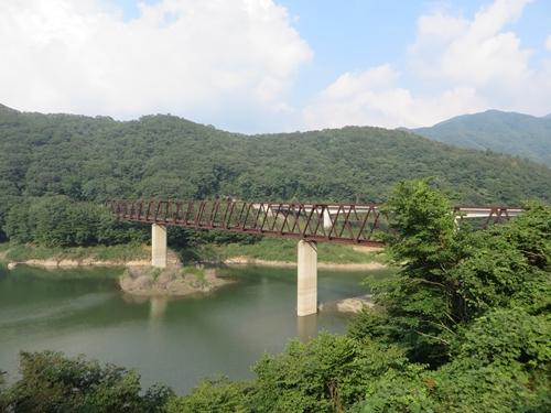 湯西川鉄橋