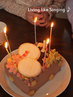 お祝いのケーキ②
