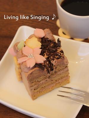 お祝いのケーキ③