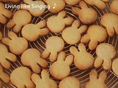 うさぎのクッキー