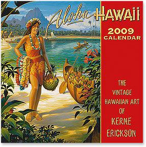 2009 ハワイアンカレンダー