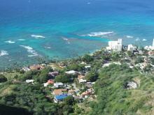 ハワイアン雑貨Locottsu-ダイヤモンドヘッドからの景色