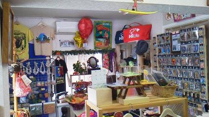 ハワイアン雑貨Locottsu-レッドレフア 店内2