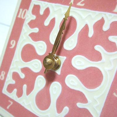 ハワイアン雑貨Locottsu-ハワイアンタイル時計