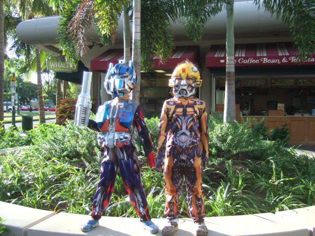 ハワイアン雑貨Locottsu-ハロウィン アンバサダーホテル前