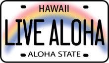 ハワイアン雑貨Locottsu-ハワイアンステッカー live aloha