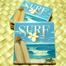 ハワイアン雑貨Locottsu-コースター サーフ