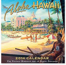 ハワイアン雑貨Locottsu-2014年ハワイアンカレンダー