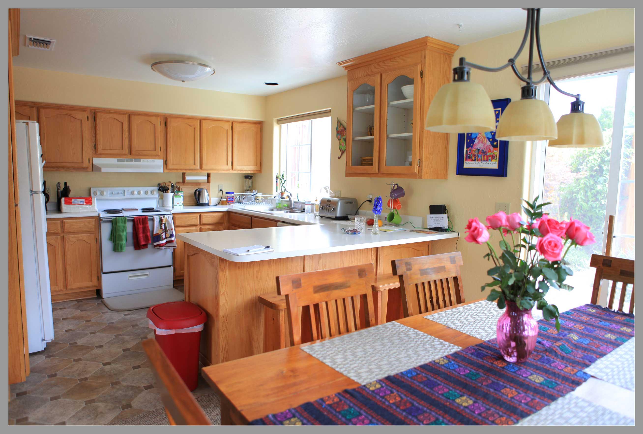エンジェルハウスのキッチン