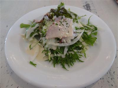Bランチのサラダ