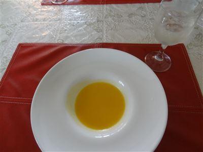 食前酒とスープ