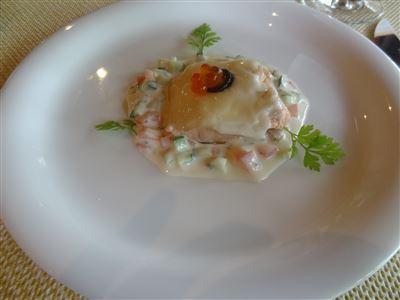 Aコースの前菜