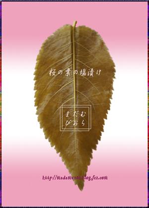 桜の葉の塩漬けweb用