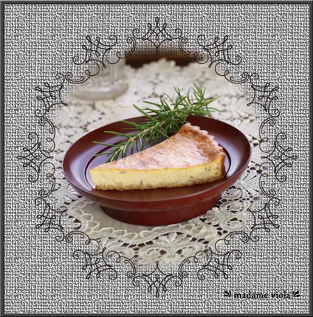 ローズマリー チーズケーキweb用B