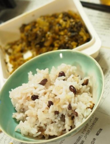 小豆増量五穀米