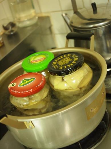 筍の長期保存に挑戦「筍の水煮の瓶詰」
