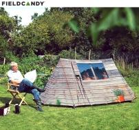 イギリス生まれのユニークなテント:FIELDCANDY