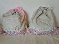 巾着袋:幼稚園入園前に用意するモノを自作!嫁の手作り手芸🎶