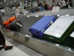 荷物引取りターンテーブル(Baggage claim)