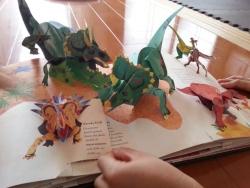 ダイナソー/太古の世界 恐竜時代 飛び出す絵本