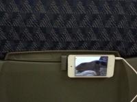 【旅行記】 長時間フライトでipodを即席モニターにして楽しむ♪