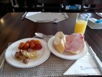 バイアのホテルMisturaの朝食