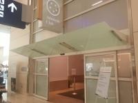 ダラス・フォートワース国際空港のterminalDのUS AIRWAYS CLUB入口