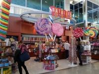 ダラス・フォートワース国際空港のキャンディー屋さん