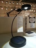 IKEA(イケア)のソーラーLEDテーブルランプ 「SUNNAN(スッナン)」