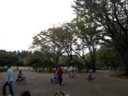 幼児から小学生まで自転車を借りて自転車練習