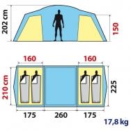 SECONDS FAMILY 4_2 XL HIGH ROOF ILLUMIN FRESH大きさ