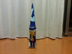 ペットボトルロケット ペプシスペシャル メガロケット号