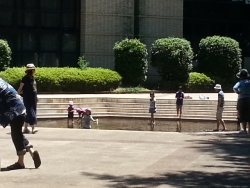子供大好き 水遊び