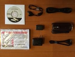 パナソニックビデオカメラV550Mブラウン 付属品