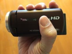 パナソニックビデオカメラV550Mブラウン