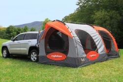 車中泊とテント