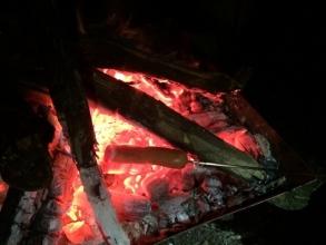 【必見キャンプ生活】 大人キャンプ!焚き火で「お手軽チーズフォンデュ」♪