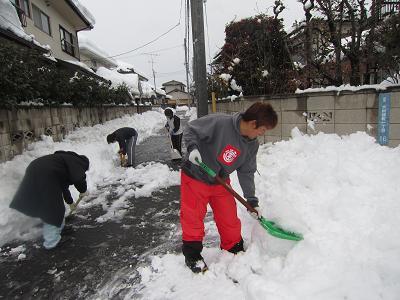 IMG_2195 ⑩雪かきー2
